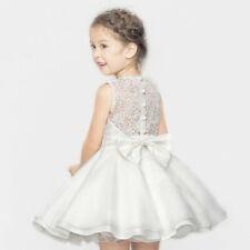 Mini Vestido Meghan Princesa Niña Vestido Formal Vestido de Bautizo Boda Dama de honor