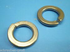 Acciaio inox v2a Molla anelli blocco Inge DIN 127 m2-m20 mm
