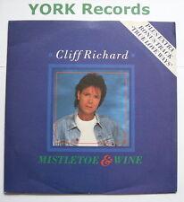 "CLIFF RICHARD - Mistletoe & Wine - Excellent Condition 7"" Single EMS 78"