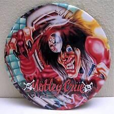 Motley Crue Big Rock Concert Band Pin Badge 2 Old Stock