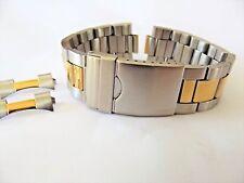 bracciale oyster bicolor x rolex baume mercier ansa curva 18 20 22 mm best watch