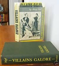 VILLAINS GALORE by Mary Noel, 1st Ed in DJ 1954, Popular Story Weeklies