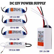 Power Supply Transformer Adapter DC18W-100W DIY Switch Driver Strips LED UK
