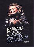 Barbara Cook In Mostly Sondheim, , Very Good DVD, Barbara Cook,