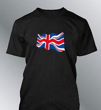 Camiseta Bandera Inglesa Hombre Union Jack Great Britain Euro GB Inglaterra