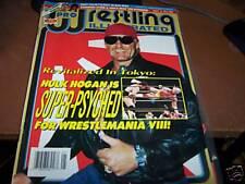 Pro Wrestling Illustrated May 1992 Hulk Hogan on cvr