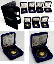 1986 Star Trek .999 1/4 Ounce GOLD Coin Collection- Rarities Mint- Your Choice