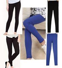 Damen lange Leggings toll Qualität absolut blickdicht Hose Uni-Größe SALE Hose