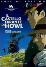 Dvd **IL CASTELLO ERRANTE DI HOWL** Limited Edition di Hayao Miyazaki nuovo 2005