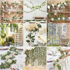 Artificial Flowers Foliage Eucalyptus Ivy Vine Garland Rustic Wedding Decoration