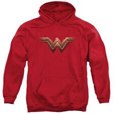 Wonder Woman Movie Wonder Woman Logo Pullover Hoodies for Men or Kids