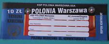 old TICKET EL Polonia Poland Juvenes Dogana San Marino