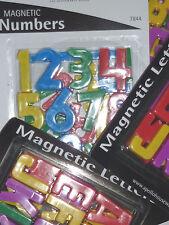 fridge magnet number letter children school Nursery home learn memo notice board