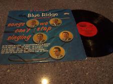 "The Blue Ridge Quartet ""Songs We Can't Stop Singing"" LP"