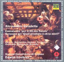 Stradella Cantata A 6 Serenata A 3 ITA Press CD