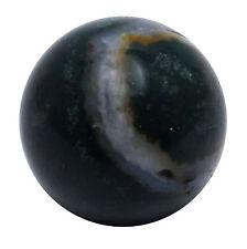 Green Bloodstone Sphere Ball Balancing Art Reiki Gemstones Healing Table Dacor