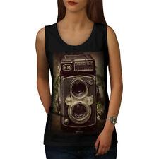 Old Foto Camera Women Tank Top NEW | Wellcoda