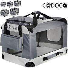 Cage de transport pliable pour chiens chats animaux CADOCA Tailles : S - XXL