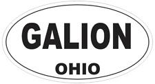 Ohio Oval Bumper Sticker or Helmet Sticker D2364 State Euro Oval