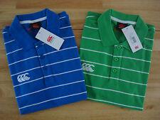 ** 60% De Descuento!! ** Canterbury rayas camisa POLO / S & m / PVP £ 25