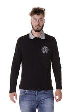 Polo Versace Jeans Polo Shirt % Uomo Nero B3GQA7P6-899