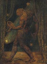 William Blake-El Fantasma De Una Pulga Vintage Fine Art Print