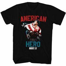 Rocky Hero Black T-Shirt