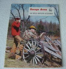 SAVAGE FIREARMS 1967 GUN CATALOG