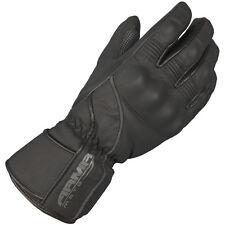 Armr Moto WPL-245 / WXP-8 Leather Waterproof Thermal Motorcycle Glove Black - T