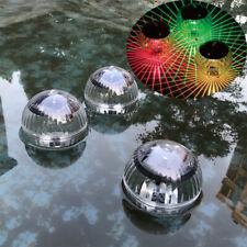 UK Solar LED Lamp Outdoor Garden Color Changing Yard Pond Pool Floating Light