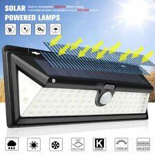 90 LED Solar Power Motion Sensor Wall Light Yard Outdoor Garden Lamp Waterproof