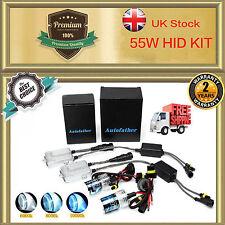 55W H1 H3 H7 H8/H9/H11 9005 9006 Slim Ballast HID Xenon Headlight Conversion KIT