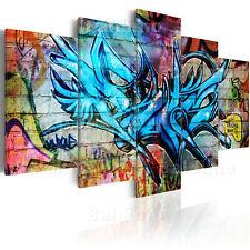 LARGE CANVAS WALL ART PRINT + IMAGE + PICTURE + PHOTO GRAFFITI 020105-14