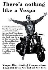 Theres nulla di simile a una VESPA SCOOTER annuncio NY poster stampa
