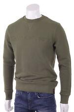 CK Calvin Klein Jeans Felpa Uomo Girocollo Verde Militare