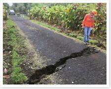Old Kalapana Road Crack Kilauea Volcano 2018 Silver Halide Photo