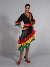 Rio Samba Spanierin Kleid Brasilianerin Fasching Karneval Mottoparty heiß feurig