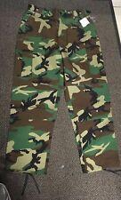 Nuevo Para hombres nos Woodland Camo Bdu Ripstop M-65 Estilo De Combate Pantalones De Trabajo