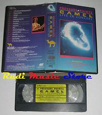 VHS CAMEL Pressure points 1984 LIVE 1984 POLYGRAM 041 058 2 no cd mc dvd lp(VM1)