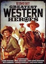 Greatest Western Heroes (DVD, 2013,2-Disc Set) JOHN WAYNE,ROY ROGERS, ETC.