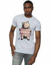 Disney Men's Toy Story Kung Fu Pork Chop T-Shirt
