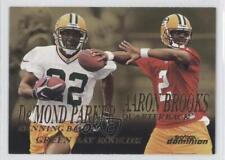 1999 Skybox Dominion #227 De'Mond Parker Aaron Brooks Green Bay Packers Card