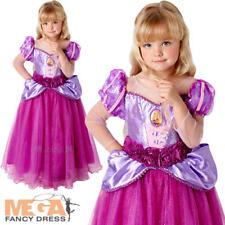 DISNEY Premium SPILLA Ragazze FANCY DRESS PRINCESS KIDS BAMBINO Deluxe Costume