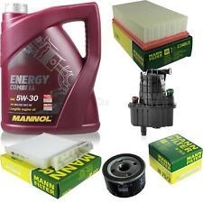 CAMBIO Olio Set 5l MANNOL ENERGY COMBI LL 5w-30 Uomo ispezione Service 10048484