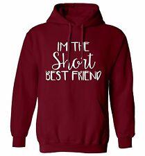 I'm the short best friend hoodie hoody BFF friend couple bestie funny  gift 1728