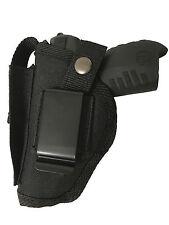 Gun Holster fits Ruger SR22 Black OWB Nylon Mag Pouch Big Dog Holsters