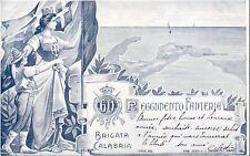 9244) TORINO,60 REGGIMENTO FANTERIA BRIGATA CALABRIA. GEOGRAFICA .VIAGGIATA.