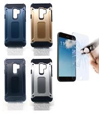"Funda Carcasa Hibrida Antigolpes Silicona Rigida Samsung Galaxy S9 Plus S9+ 6.2"""