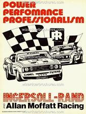 1978 ALLAN MOFFAT FORD DEALERS TEAM XC FALCON GT BATHURST A3 POSTER AD BROCHURE