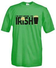 T-Shirt girocollo manica corta Fun B26 Guinness I'm not drunk, I'm Irish